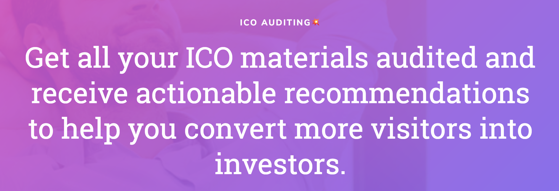 ico marketing audit