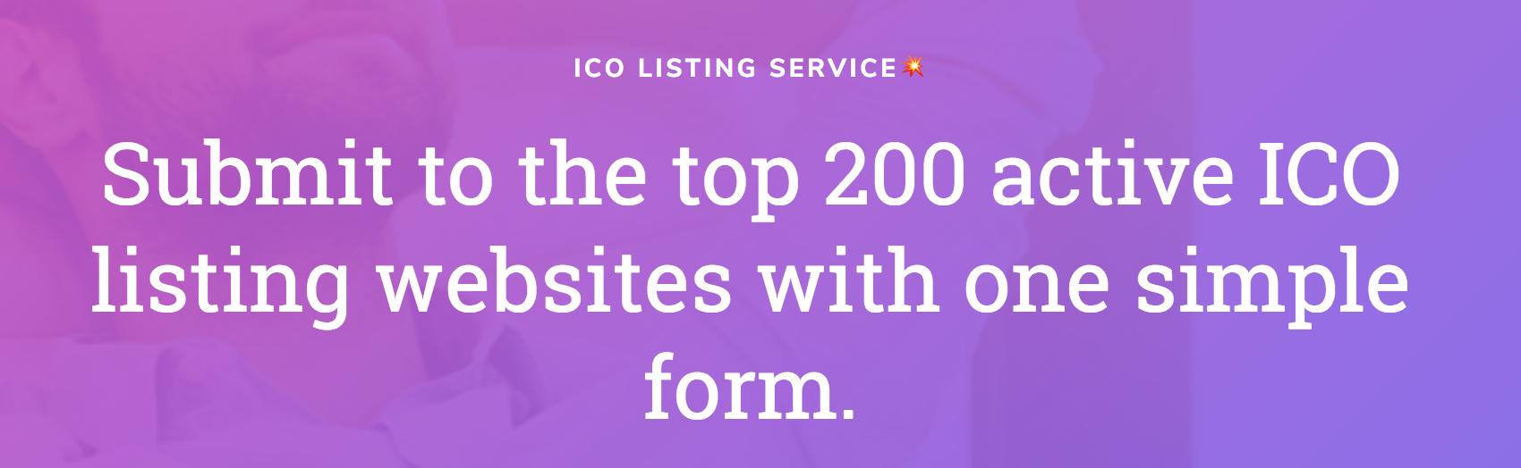 ico marketing listing sites